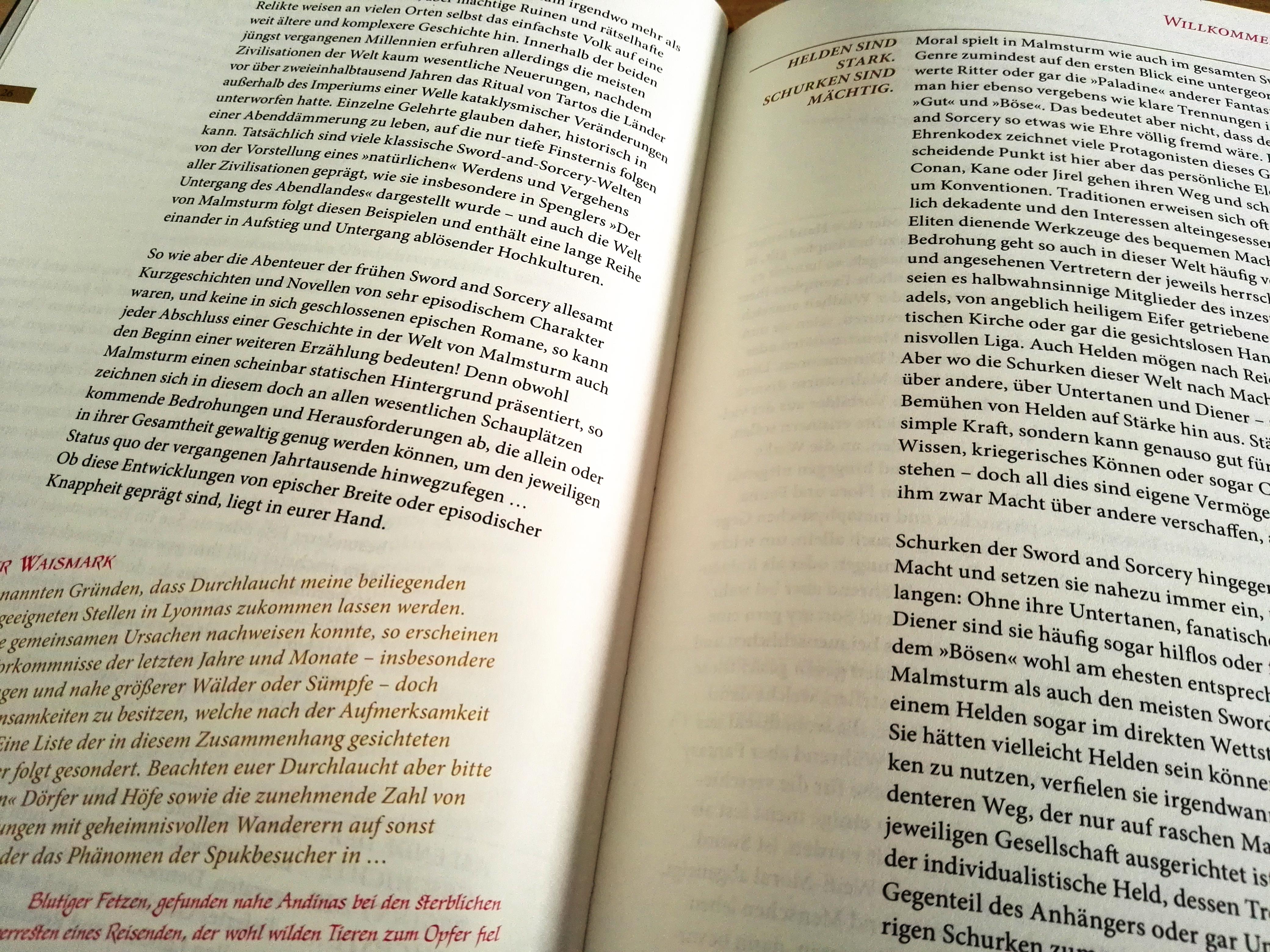 Malmsturm – Die Fundamente Buchblock 5