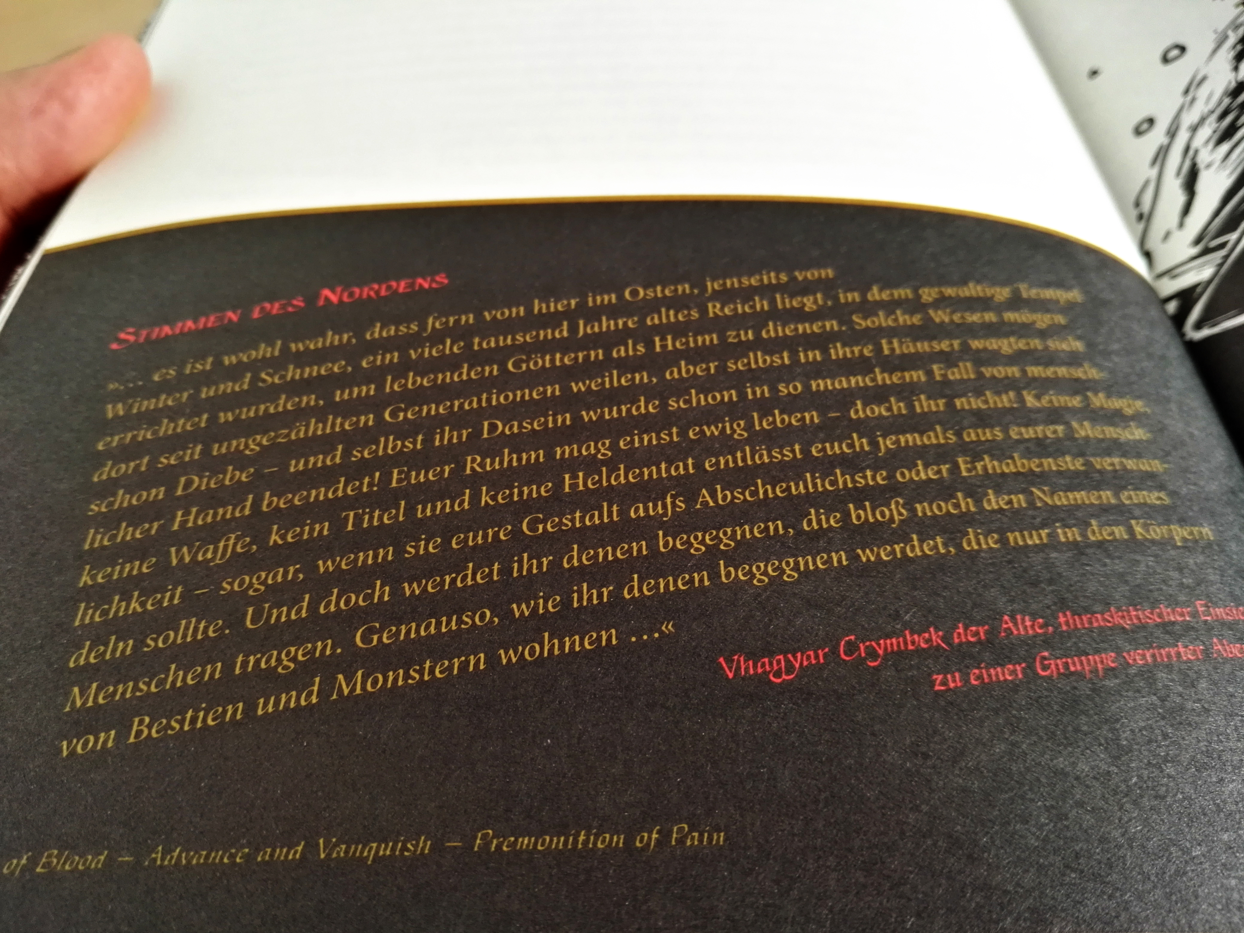 Malmsturm – Die Fundamente Buchblock 6